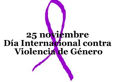 DÍA INTERNACIONAL CONTRA LA VIOLENCIA DE GÉNERO